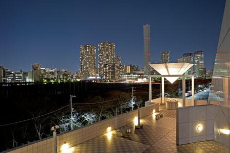 晴海客船ターミナルの夜景
