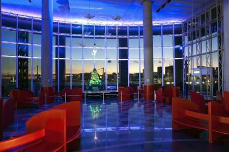 晴海客船ターミナル 展望台の夜景