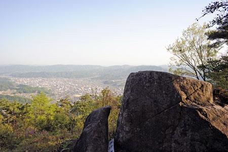 幡立山城跡の夜景