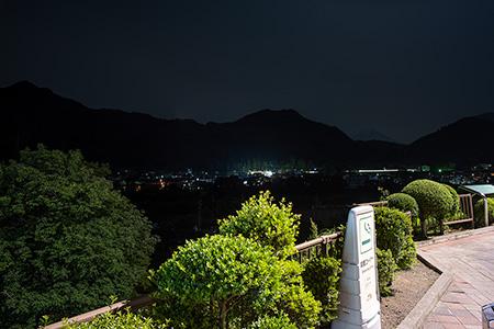 初狩PA(下り)の夜景