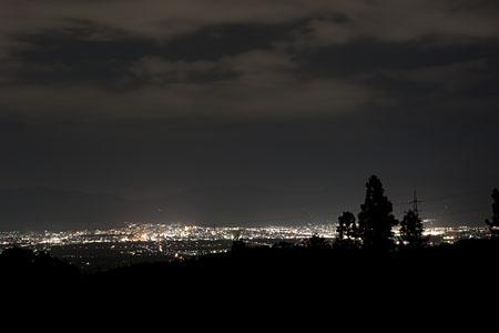 初恋の丘の夜景