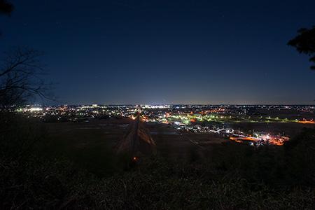 蛇園トンネル台の夜景