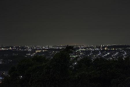 平成展望台の夜景