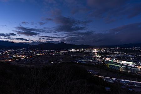 平和台公園の夜景