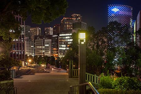 日枝神社の夜景