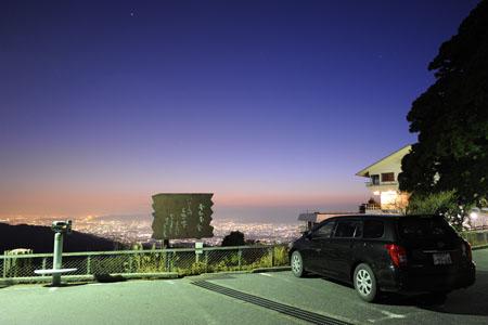 登仙台駐車場 比叡山ドライブウエイの夜景