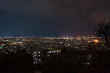 日笠山公園の夜景
