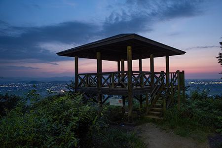 東山公園の夜景
