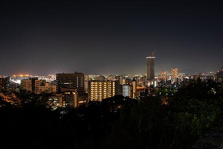 比治山公園の夜景