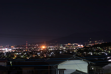 光ヶ丘公園の夜景