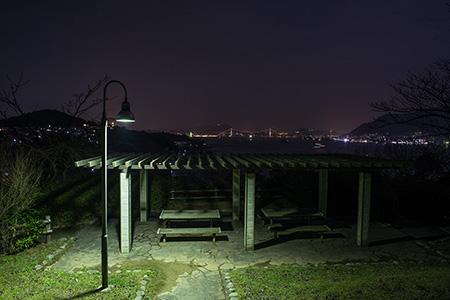 彦島南公園の夜景