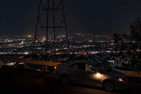 姫塚の夜景