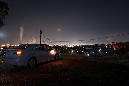 比奈公園の夜景