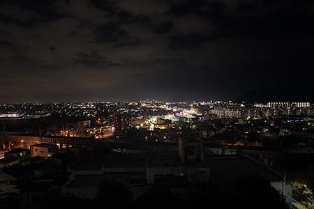 日向岡の夜景