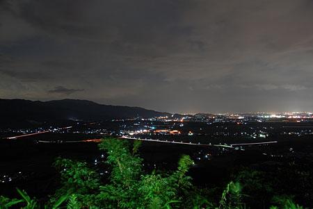 日の隈山の夜景