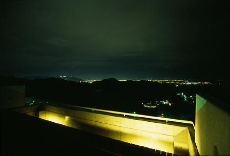 日峯大神子広域公園の夜景