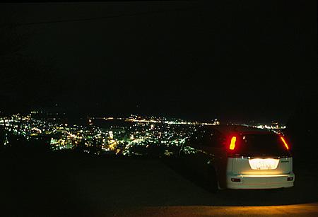 日峯神社の夜景