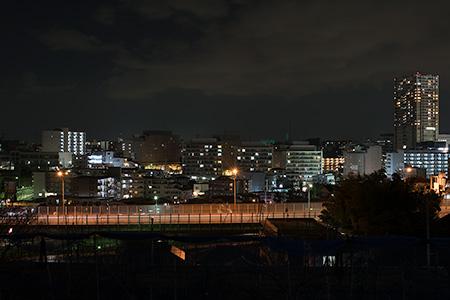 平戸小学校近くの夜景