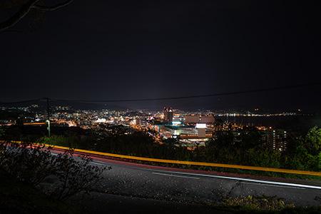 平磯公園の夜景
