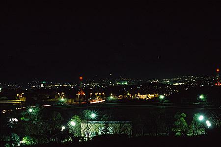 東平尾公園の夜景
