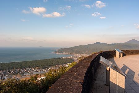 鏡山 ひれふり展望台の夜景