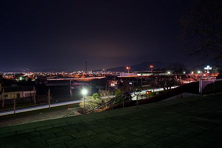 広見公園の夜景
