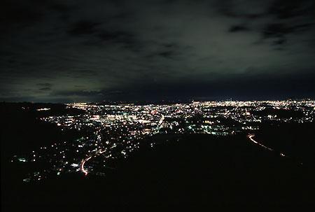 広嶺山の夜景