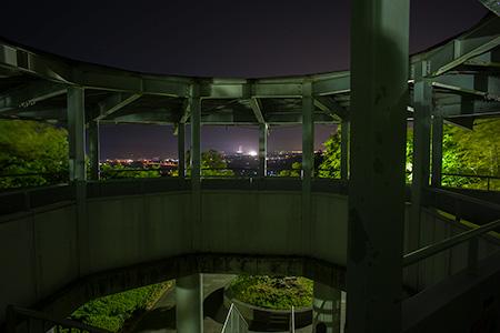 久峰総合公園の夜景