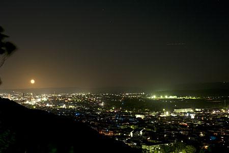 人見神社の夜景