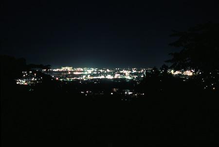 一ツ森公園の夜景