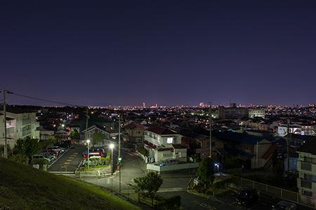 一つ山団地公園の夜景