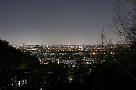 ひつじさん公園の夜景