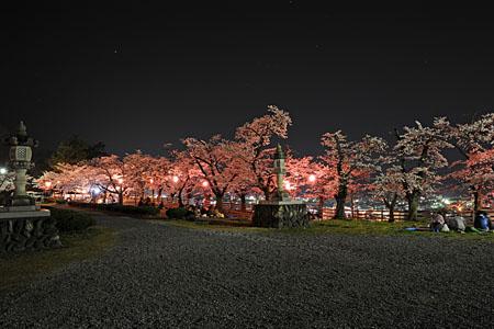 羊山公園 見晴らしの丘の夜景