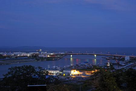 日和山公園の夜景