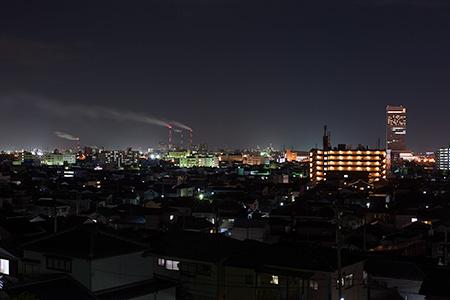 日和山展望台の夜景
