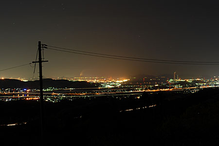 反古山の夜景