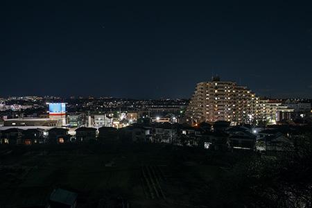 ほほえみ公園の夜景