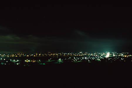 駐車公園の夜景