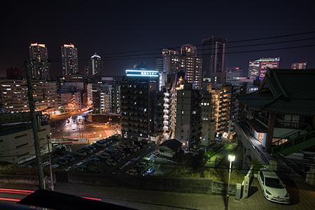 本覚寺の夜景