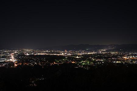 本城山公園の夜景