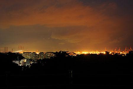 本牧山頂公園の夜景