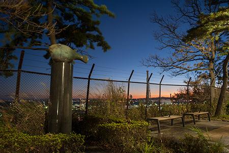 本牧臨海公園の夜景