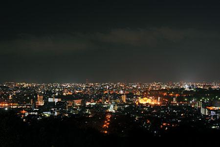 本妙寺公園の夜景