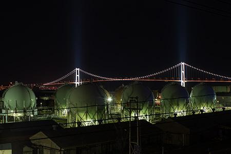 幌萌町の夜景