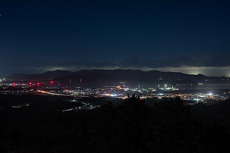 星上山展望台