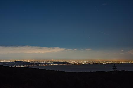 星ヶ山公園 さつきの郷の夜景