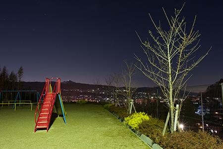 王寺スカイヒルズ ほしぞら公園の夜景