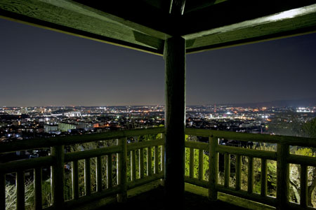宝来南公園の夜景