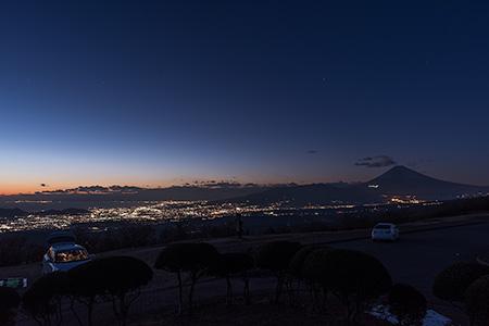 滝知山展望台-西 伊豆スカイラインの夜景