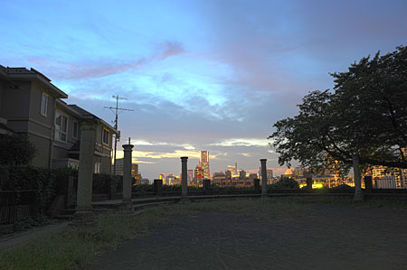 元町百段公園の夜景